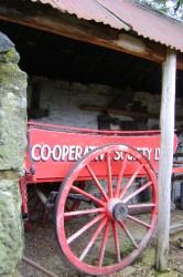 Stable courtyard (Lithgow Co-op Wagon). Eskbank House Collection.