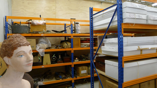 Museum collections at the CCCRC. Image courtesy of CCCRC.